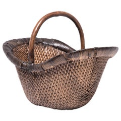 Early 20th Century Chinese Market Basket