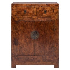 Early 20th Century Chinese Mixed Parquetry Cabinet