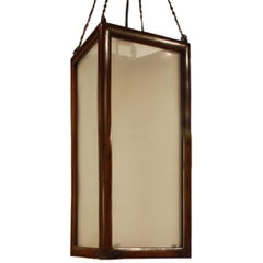 Early 20th Century Chinese Narrow Lantern