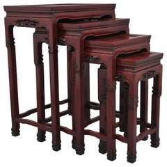 Early 20th Century Chinese Nest of Tables