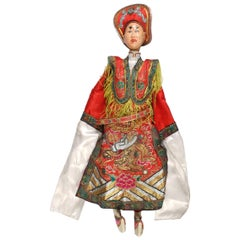 Early 20th Century Chinese Opera Puppet