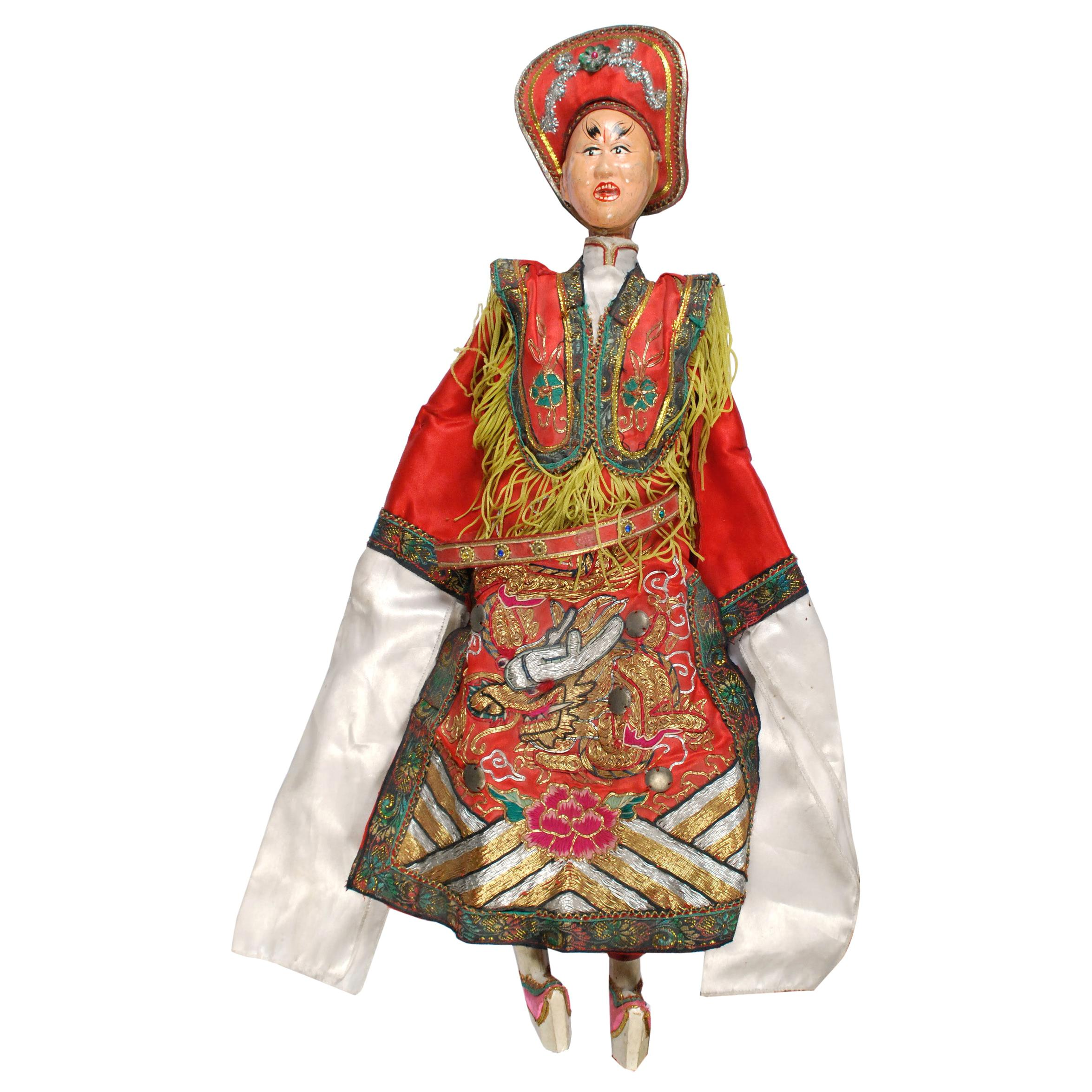 Early 20th Century Chinese Opera Puppet