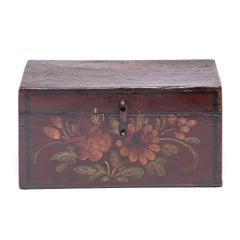Early 20th Century Chinese Peony Treasure Box