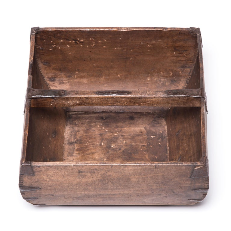Iron Early 20th Century Chinese Rice Measure For Sale