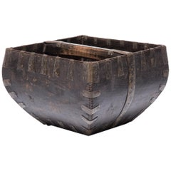 Early 20th Century Chinese Rice Measure