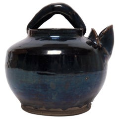 Early 20th Century Chinese Spouted Wine Vessel