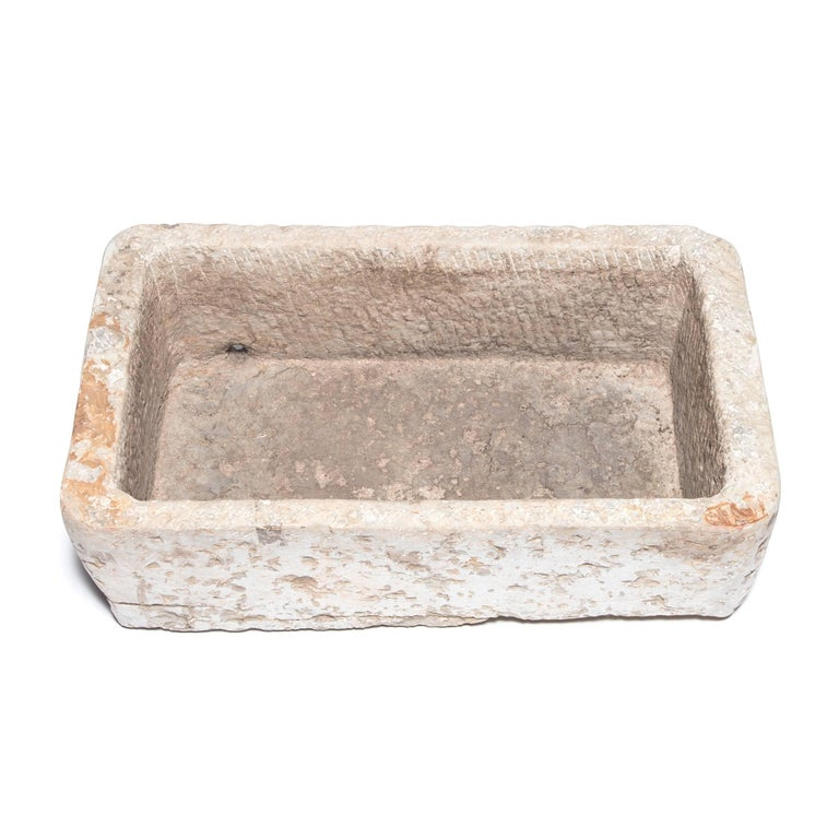 Early 20th Century Chinese Stone Trough In Good Condition For Sale In Chicago, IL