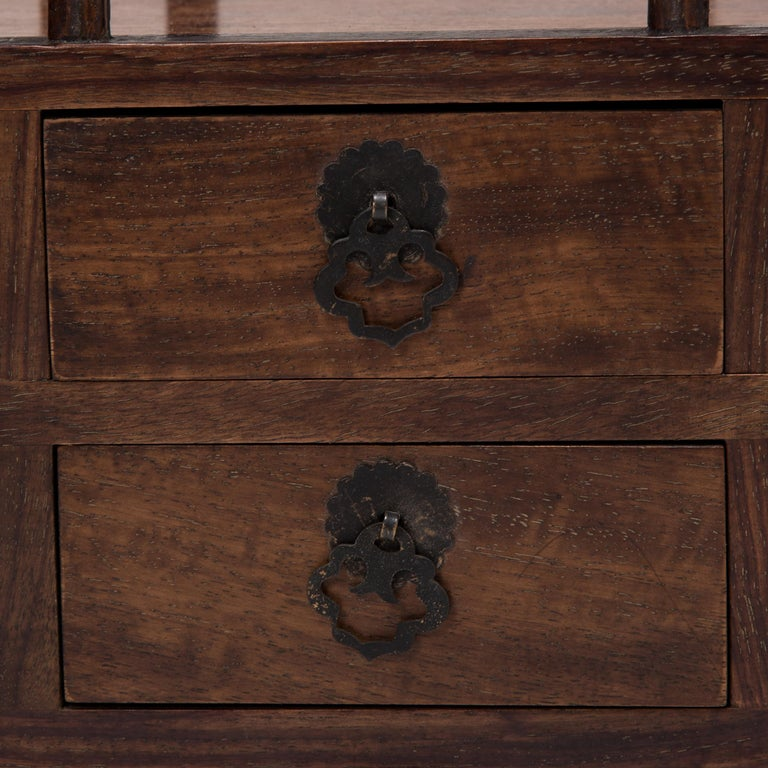 Early 20th Century Chinese Tabletop Scholars' Chest For Sale 2