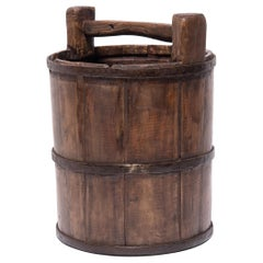 Early 20th Century Chinese Well Bucket
