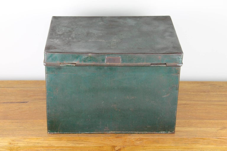 Early 20th Century Coffee and Tea Tin Box K. Tiktak's For Sale 1