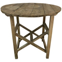 Early 20th Century Collapsible Farm Table