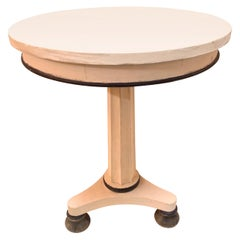 Early 20th Century Continental Biedermeier Table