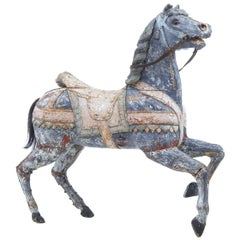Early 20th Century Continental Decorative Carousel Horse