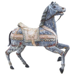 Early 20th Century Continental Decorative Merry Go Round Horse