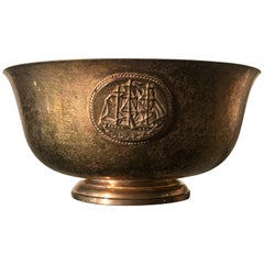 Early 20th Century Copper Marked Tiffany Bowl