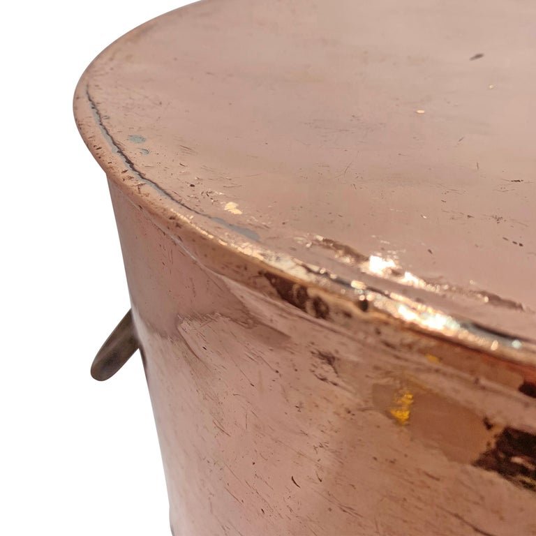 Early 20th Century Copper Pot from Hotel Taft, NYC For Sale 6
