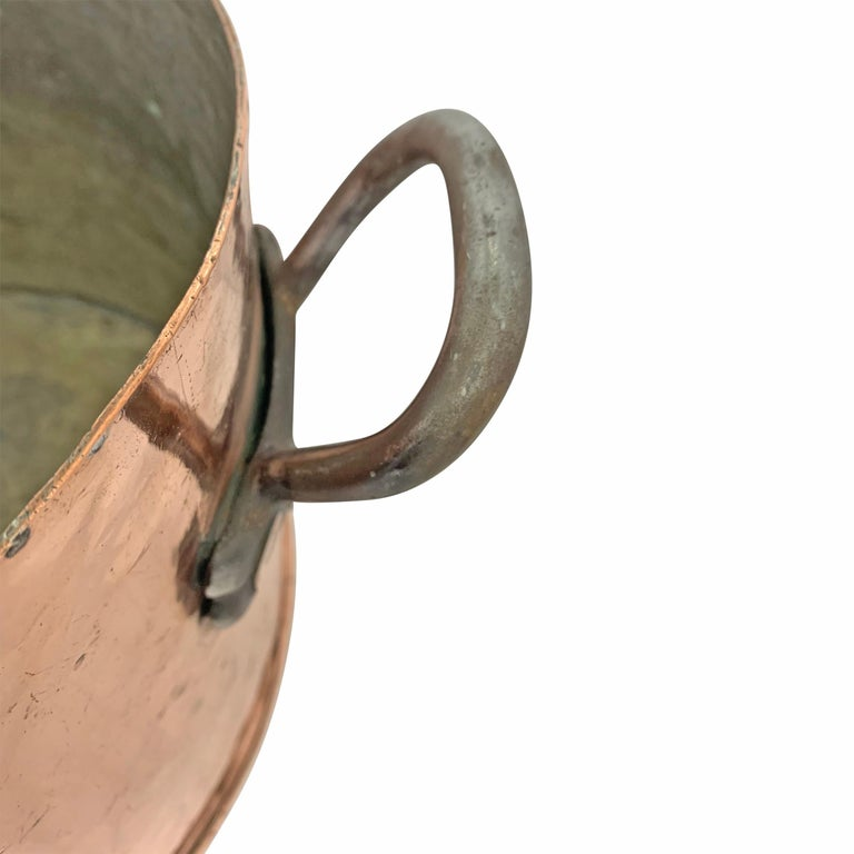 Early 20th Century Copper Pot from Hotel Taft, NYC For Sale 2