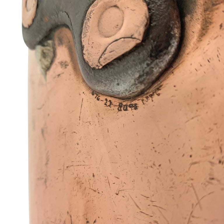 Early 20th Century Copper Pot from Hotel Taft, NYC For Sale 3