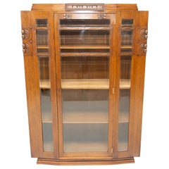 Early 20th Century Viennese secession Display cabinet