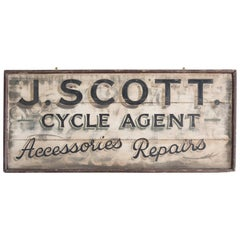 Early 20th Century Cycle Shop Trade Sign