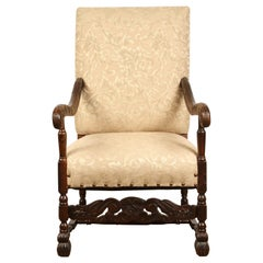 Early 20th Century Danish Baroque Chair
