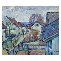 Early 20th Century Danish Oil Painting by Carl Christian Forup, around 1910