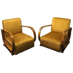 Early 20th Century Déco Armchairs