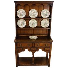 Early 20th Century Diminutive English Oak Dresser