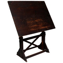 Early 20th Century Drafting Table