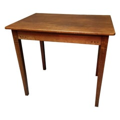 Early 20th Century Dutch Art Deco Oak Table by the Company Pander and Son