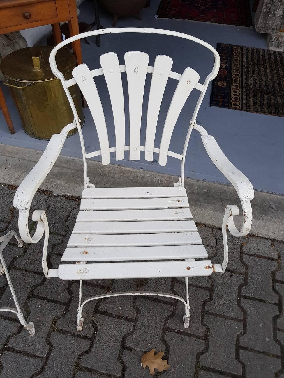 ... Dutch Outdoor Furniture Early 20th Century Dutch Art Nouveau Garden Set  Circa 1900 1910 For ...