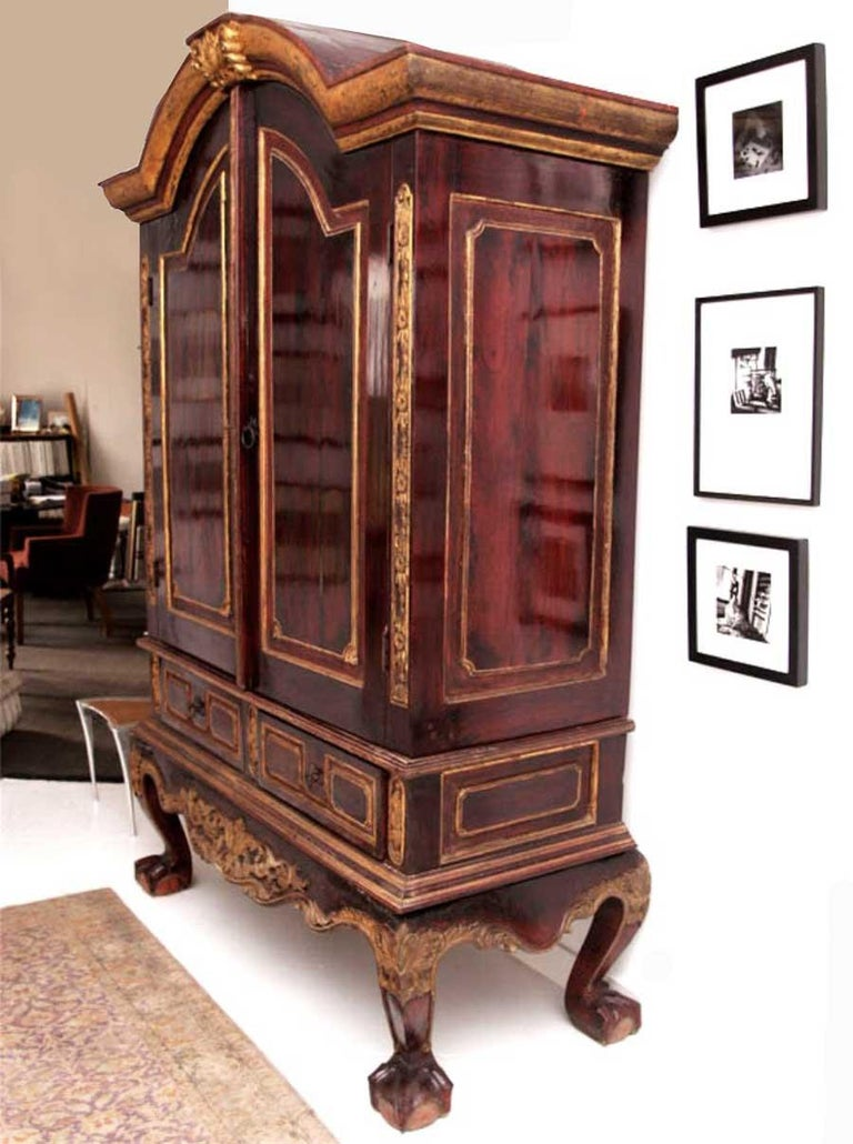 Early 20th Century Dutch Colonial Cabinet For Sale 3
