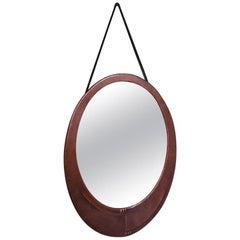 Early 20th Century Dutch Copper Amsterdam School Mirror