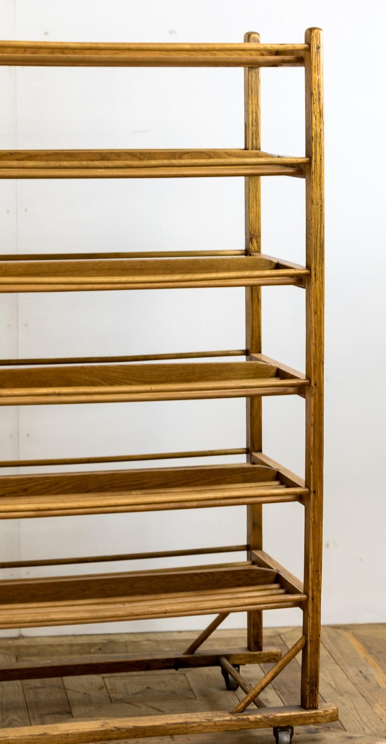 Industrial Early 20th Century Edwardian Bakery Cooling / Proving / Display Rack For Sale