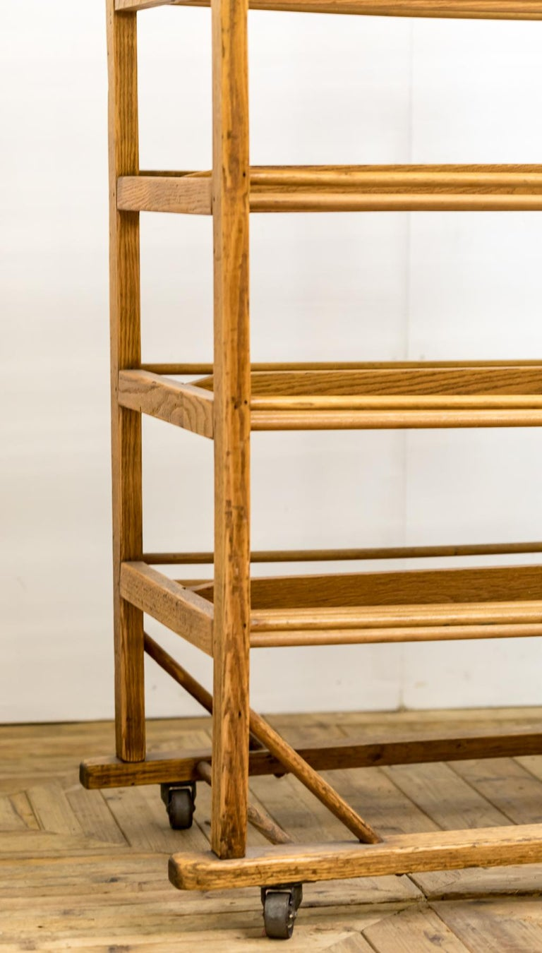 American Early 20th Century Edwardian Bakery Cooling / Proving / Display Rack For Sale