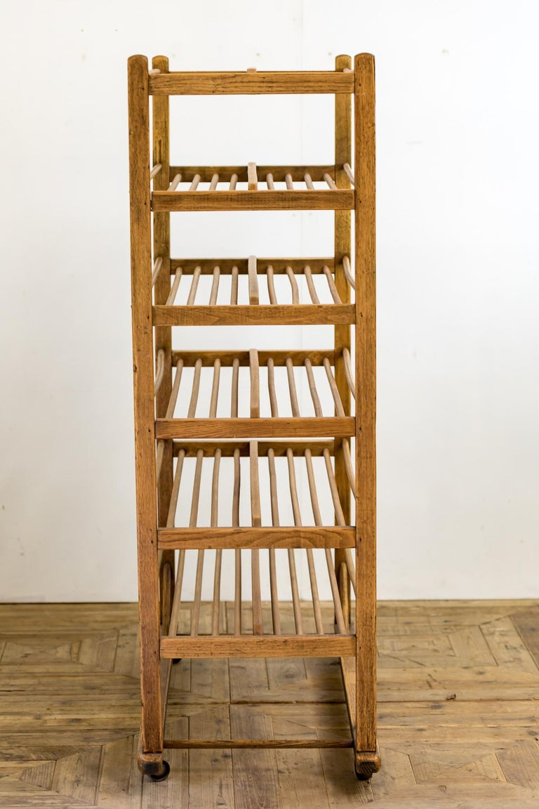 Softwood Early 20th Century Edwardian Bakery Cooling / Proving / Display Rack For Sale