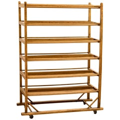 Early 20th Century Edwardian Bakery Cooling / Proving / Display Rack