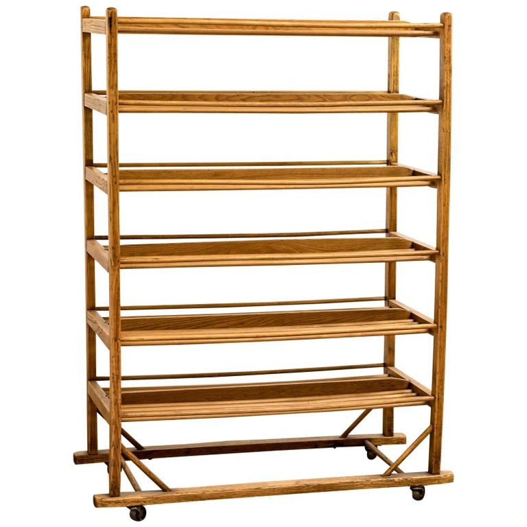 Early 20th Century Edwardian Bakery Cooling / Proving / Display Rack For Sale