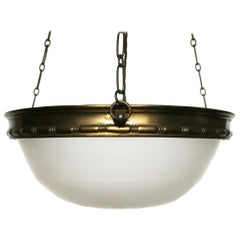 Early 20th Century Edwardian Hanging Ceiling Light