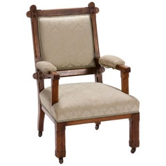 Early 20th Century English Arts & Crafts Oak Chair