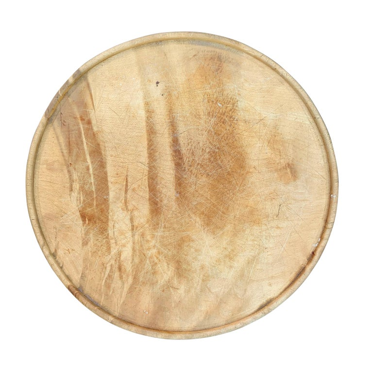 Rustic Early 20th Century English Breadboard For Sale