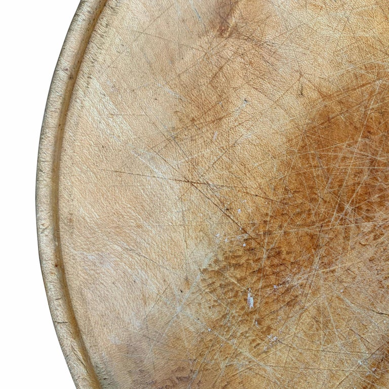 Sycamore Early 20th Century English Breadboard For Sale