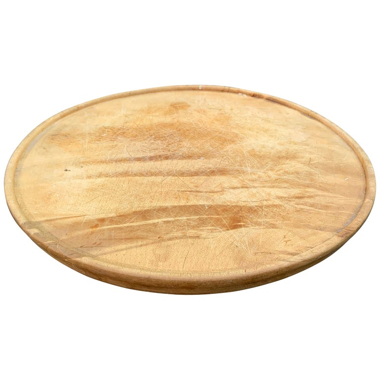 Early 20th Century English Breadboard For Sale
