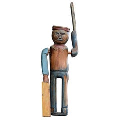 Early 20th Century English Folk Art Whirligig Figure