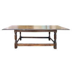 Early 20th Century English Oak Coffee Table