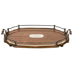 Early 20th Century English Oak Tray
