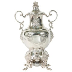 Early 20th Century English Silver Plated Samovar