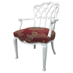 Early 20th Century English Style Painted Armchair