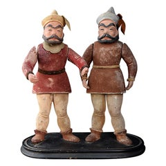 Early 20th Century European Clock Tower Automaton Figures