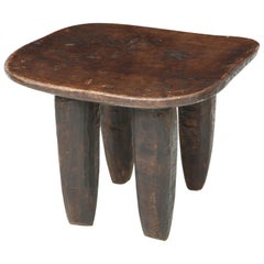 Early 20th Century Exotic Wood Side Table